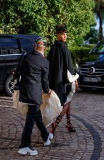 CINDY BRUNA at Hotel Martinez Hotel at 2021 Cannes Film Festival 07/16/2021