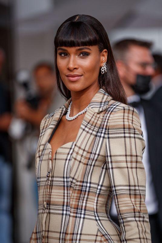 CINDY BRUNA Leaves Martinez Hotel at 74th Cannes Film Festival 07/16/2021