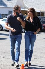 CINDY CRAWFORD and Rande Gerber Out Shopping in West Hollywood 07/29/2021