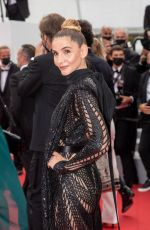 CLOTILDE COURAU at The French Dispatch Screening at 74th Annual Cannes Film Festival 07/12/2021