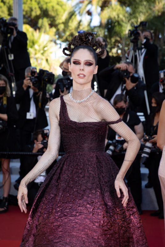 COCO ROCHA at Aline, The Voice of Love Screening at 74th Cannes Film Festival 07/13/2021