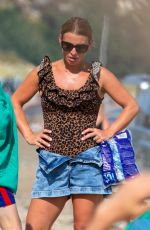 COLEEN ROONEY at a Beach in Wales 07/26/2021