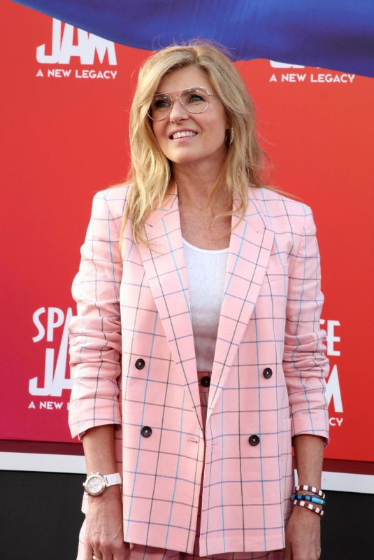 CONNIE BRITTON at Space Jam: A New Legacy Premiere in Los Angeles 07/12/2021