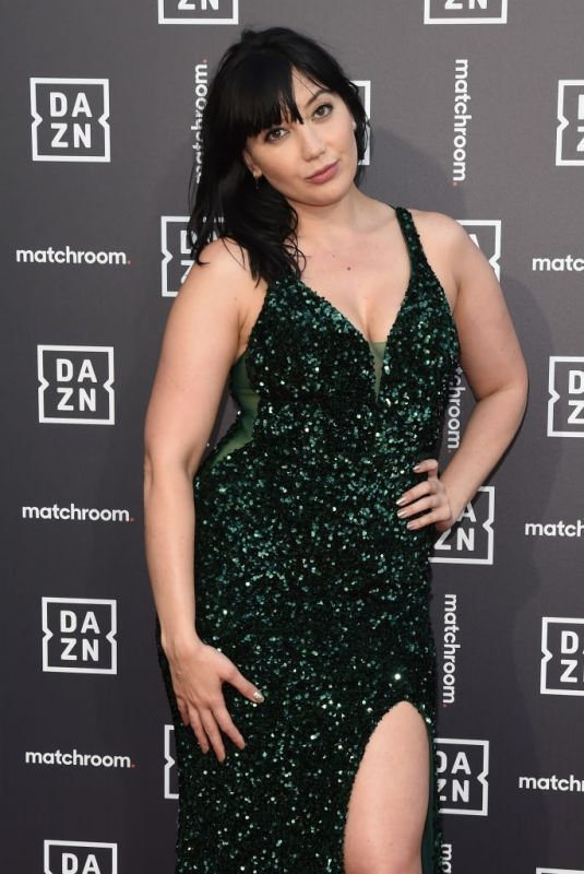DAISY LOWE at Dazn x Matchroom VIP Launch in London 07/27/2021