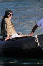 DAKOTA JOHNSON and Chris Martin on Holiday in Palma De Mallorca 07/22/2021