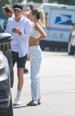 DELILAH HAMLIN Out with Friends in Beverly Hills 07/07/2021