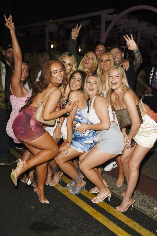 DEMI JONES at Her Birrthday Partyt at Boujee in Manchester 07/03/2021