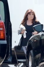 DEMI LOVATO and VALERIE BERTINELLI on the Set of Hungry in Los Angeles 07/15/2021
