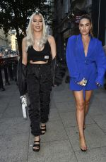 DEMI SIMS and CHLOE ROSS Arrives at Jess and Eve Gale