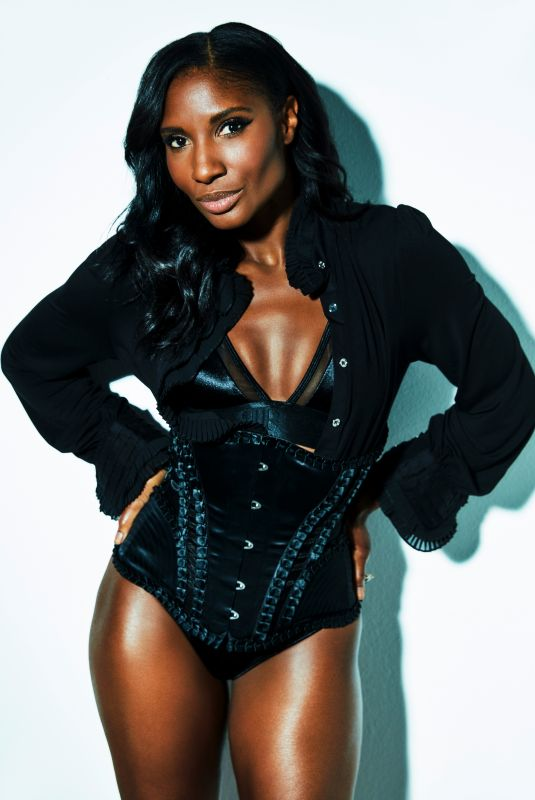 DENISE LEWIS at a Photoshoot, July 2021