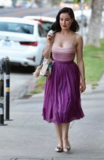 DITA VON TEESE Out for Dinner Date at Little Dom