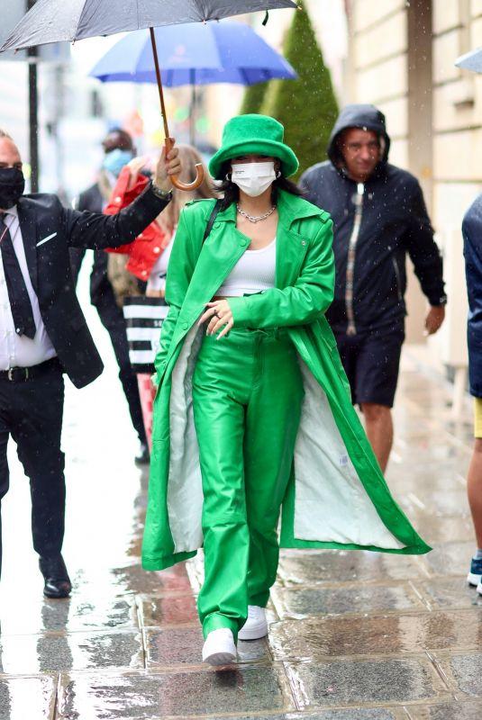 DIXIE D'AMELIO Arrives at Her Hotel in Paris 07/27/2021