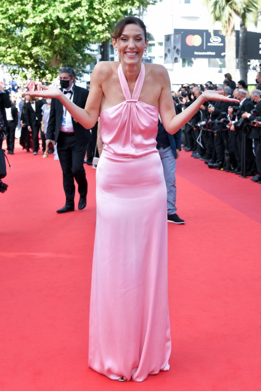 DORIA TILLIER at OSS 117: From Africa With Love Screening at 2021 Cannes Film Festival 07/17/2021