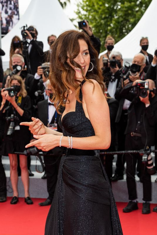 DORIA TILLIER at The French Dispatch Premiere at 74th Cannes Film Festival 07/12/2021