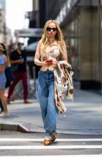 DOVE CAMERON at a Photoshoot in New York 07/16/2021