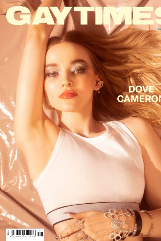 DOVE CAMERON in Gay Times Magazine, Summer 2021