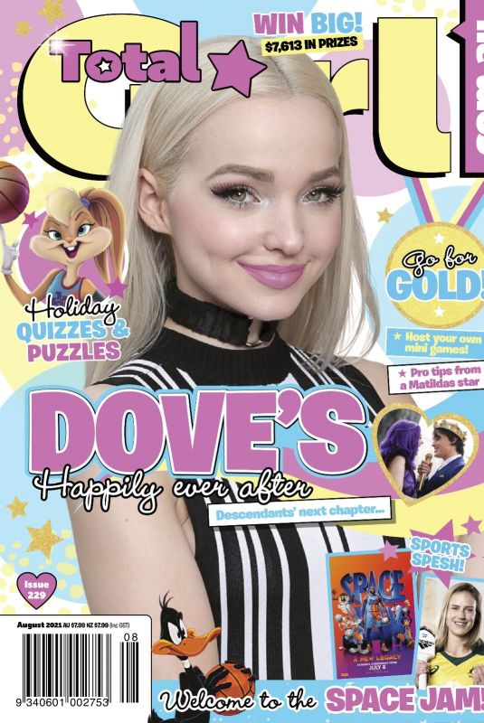 DOVE CAMERON in Total Girl Magazine, August 2021