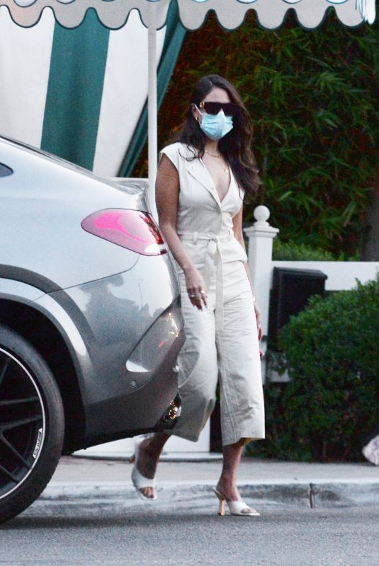 EIZA GONZALEZ at San Vicente Bungalos in West Hollywood 07/24/2021