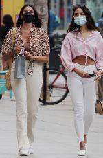 EIZA GONZALEZ Out Shopping in Santa Monica 07/23/2021