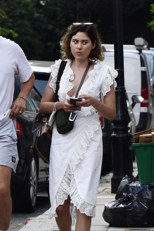 ELIZA DOOLITTLE Out and About in London 07/20/2021