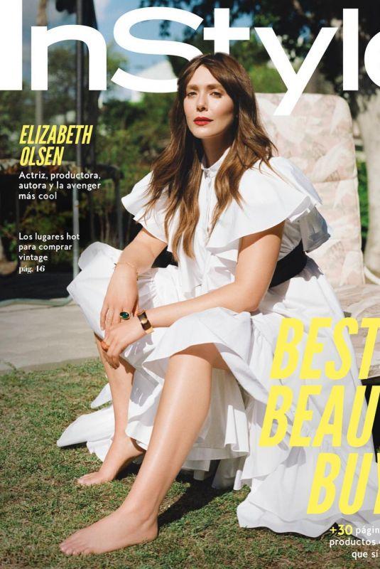 ELIZABETH OLSEN in Instyle Magazine, Mexico July 2021