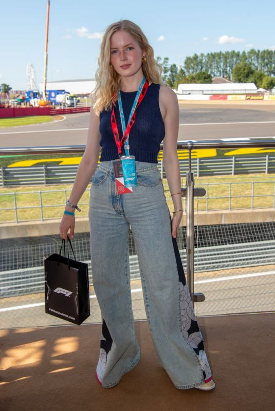 ELLIE BAMBER at F1 Perfumes Experience at British Grand Prix in Silverstone 07/17/2021