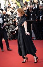 ELODIE FREGE at Benedetta Screening at 74th Cannes Film Festival 08/09/2021