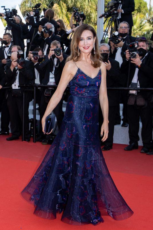 ELSA ZYLBERSTEIN at Tout S'est Bien Passe Screening at 2021 Cannes Film Festival 07/07/2021