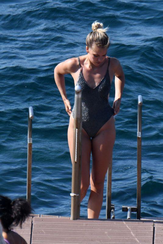 EMA KOVAC in Swimsuit in Ischia 07/23/2021