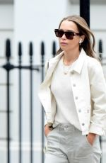 EMILIA CLARKE Out and About in London 07/16/2021