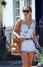 EMILIA CLARKE Out and About in London 07/25/2021