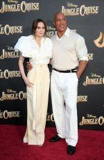 EMILY BLUNT at Jungle Cruise Premiere at Disneyland 07/24/2021