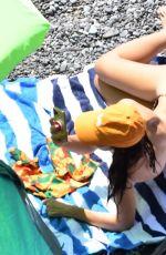 EMILY RATAJKOWSKI in Bikini at a Beach in Positano 07/22/2021