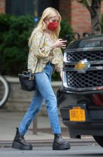 EMMA ROBERTS in Denim Out in New York 07/28/2021