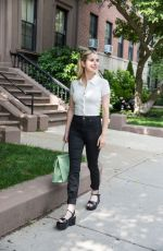 EMMA ROBERTS Out in Boston 07/17/2021