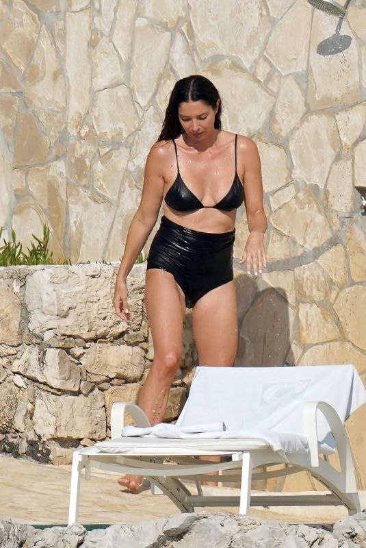 ERICA PACKER in Bikini in Antibes 07/29/2021