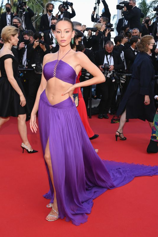 ESTER EXPOSITO at Annette Screening and Opening Ceremony at 74th Cannes Film Festival 07/06/2021