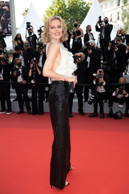 EVA HERZIGOVA at Tout S'est Bien Passe Screening at 2021 Cannes Film Festival 07/07/2021