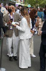 FKA TWIGS at 2021 Wimbledon Tennis Championships 07/05/2021