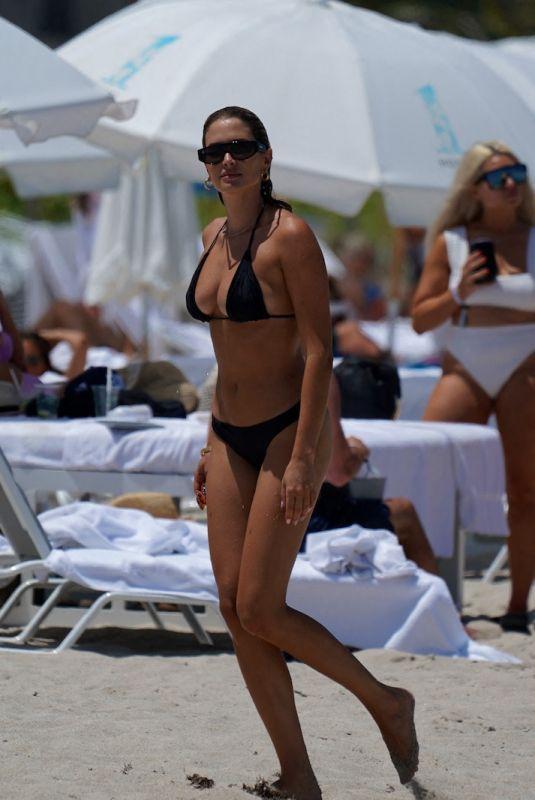 FRANCESCA AIELLO in Bikini at a Beach in Miami 07/09/2021