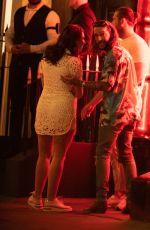 FRANCESCA ALLEN and Pete Wicks at MNKY HSE in London 07/18/2021