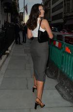 FRANCESCA ALLEN at IT Restaurant in London 07/08/2021