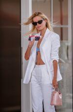 FRIDA AASEN Arrives at Martinez Hotel at 74th Cannes Film Festival 07/08/2021