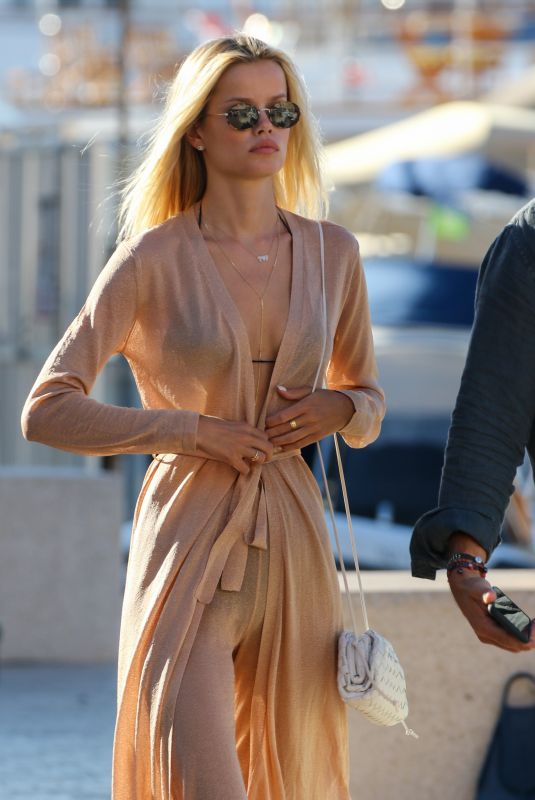 FRIDA AASEN Out Shopping in Saint-Tropez 07/04/2021