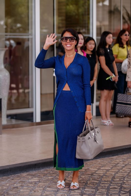 GEORGINA RODRIGUEZ at Martinez Hotel at 74th Annual Cannes Film Festival 07/15/2021