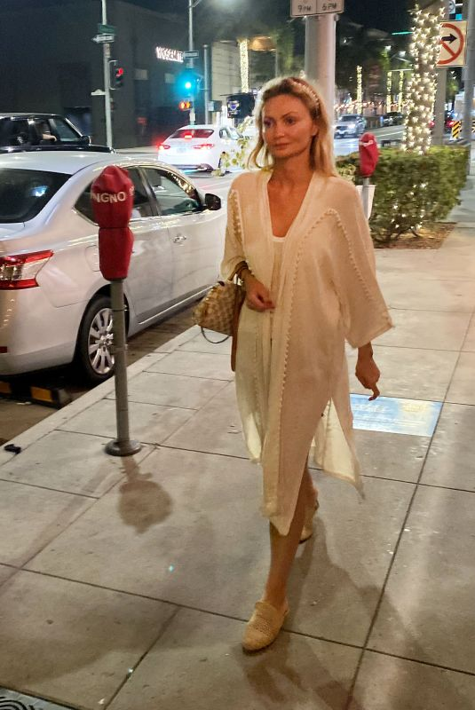 GIA SKOVA Out in Beverly Hills 07/17/2021