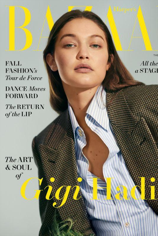 GIGI HADID for Harper's Bazaar Magazine, August 2021