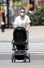 GIGI HADID Out with Her Baby in New York 07/28/2021
