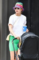 GIGI HADID Out with Her Baby Khia in New York 07/29/2021