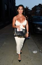 GRACE J TEAL Night Out in Manchester 07/18/2021